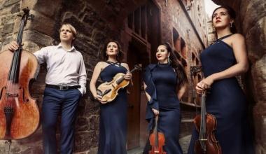 15 augustus 2021: Orlando Festival Regioconcert presenteert Eurasia Strijkkwartet